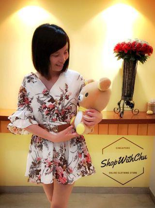 Kimono Floral Dress/Top