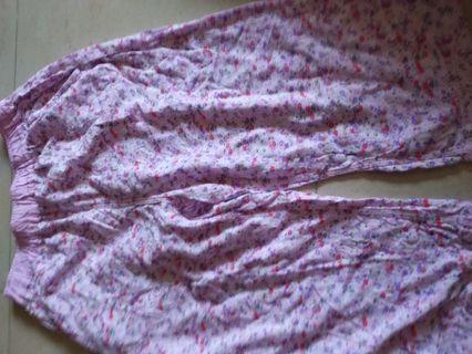 Uniqlo 3/4 pyjamas  pants