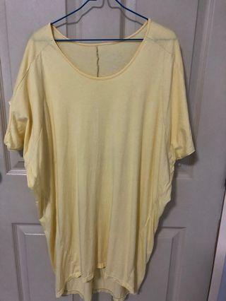 Young Hearts Light yellow tunic sleepwear