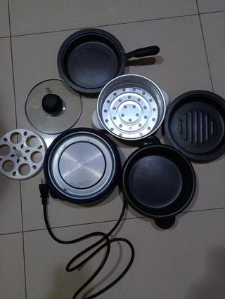 Electric cooking set ( good condition )