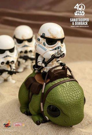 Hottoys Star Wars Cosbaby Dewback Sandtrooper SELL 全新
