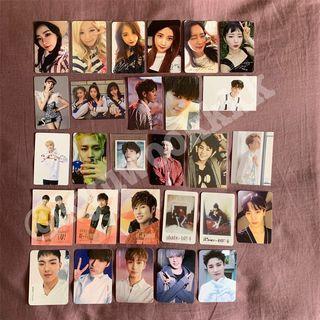 Red Velvet / APINK / GOT7 / MONSTA X ETC. Official Photocard