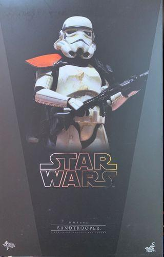 hottoys sandtrooper 1:6 Star Wars 罕有 極新