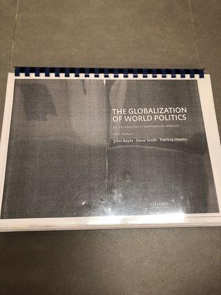 🚚 HA1001 International Relations PPGA Textbook