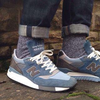 New Balance 998 Blue Denim牛仔籃 US 9.5