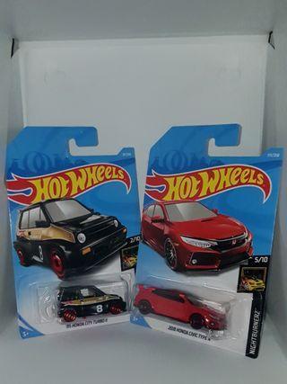 Hot Wheels Lot of 2 Honda