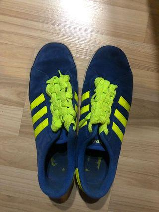Adidas Neo for men size UK10 - Suede Blue