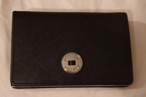 Oroton Business Card Holder Black RRP $125