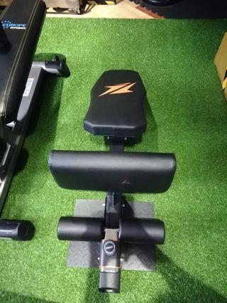 Gym sissy leg machine sit up