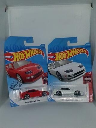 Lot of 2 Hot Wheels Nissan 300ZX Twin Turbo
