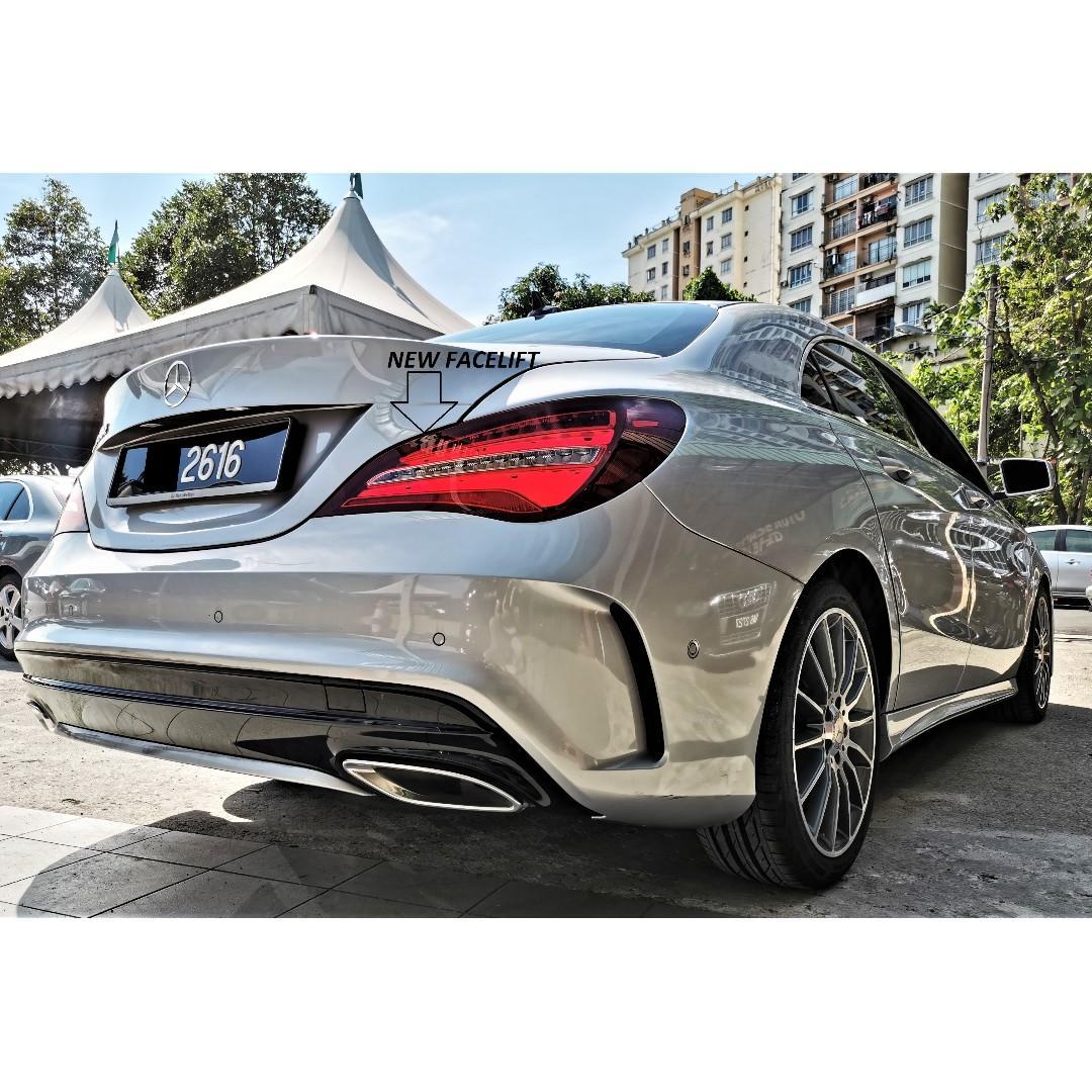 2017 Mercedes-Benz CLA200 1.6 FACELIFT (A) AMG 3000KM UNDER WARRANTY 2021