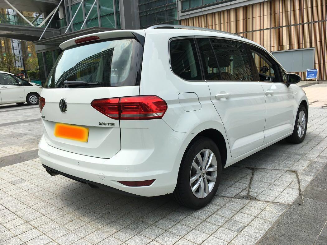 2017 VW TOURAN 1.4 TSI LUXURY