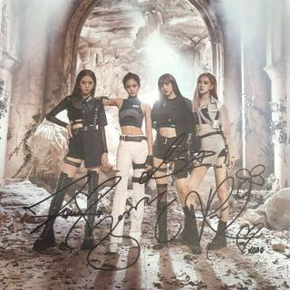 🚚 [INSTOCK] SIGNED BLACKPINK KILL THIS LOVE POSTER