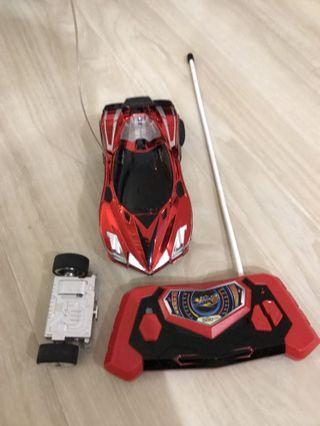 Flash and Dash RC car