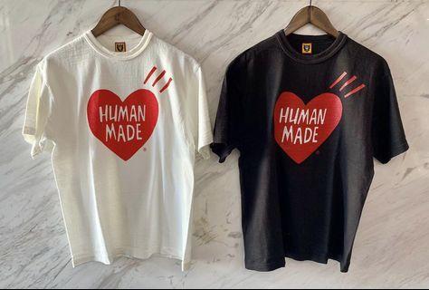 🚚 Human made 大心短袖
