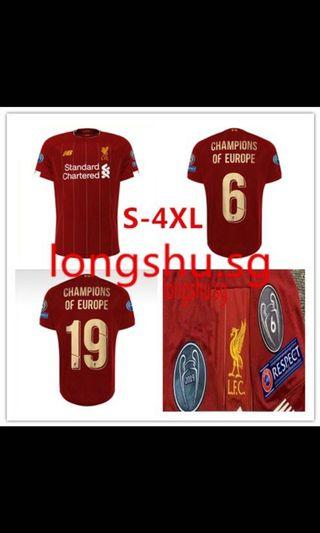 SALE Liverpool 19/20 CHAMPIONS OF EUROPE Kit