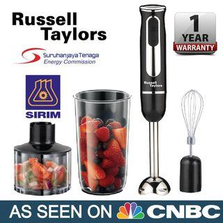 Russell Taylors Multifunction Hand Blender Food Processor (600W)