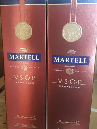 🚚 Martell VSOP MEDAILION 1L