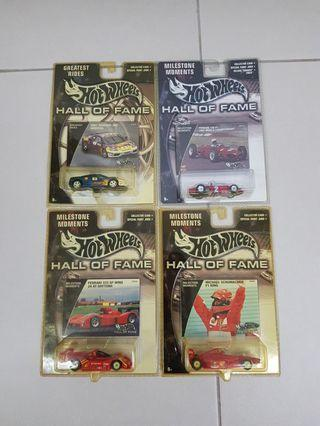 Hot Wheels Ferrari Hall of Fame Collection