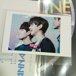 Kang Daniel Mwave Photocard / Polaroid