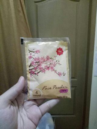 Refil Bedak Tabur Viva Cosmetics