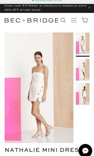 Bec and bridge Nathalie mini dress