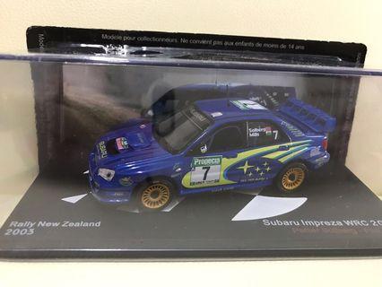 1:43 Subaru Impreza WRC 2003 #7