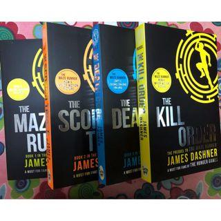 English Book: The Maze Runner (All 4 Books in total)