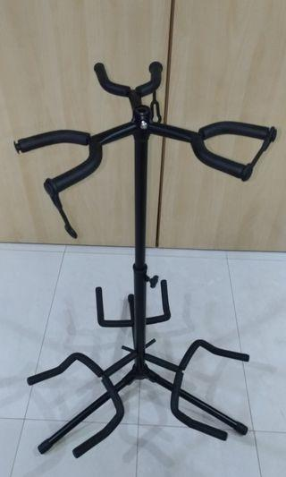 🚚 Triple Guitar Stand