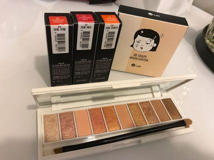 All for RM85 - Wlab make up set/ eyeshadow palette/ lip tint or color