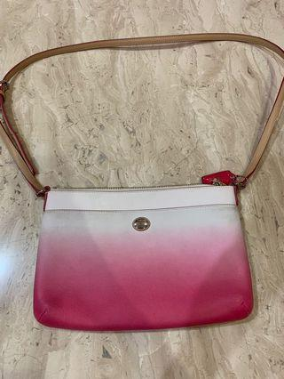 Coach sling bag ombre