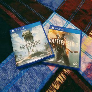 BATTLEFIELD 1 AND SW BATTLEFRONT