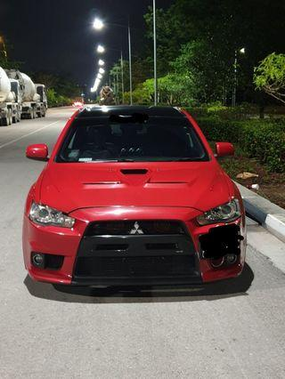 Mitsubishi Evolution X /10 GSR manual for sale.