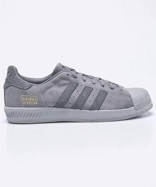 Sepatu Adidas Original Superstar Bounce Grey