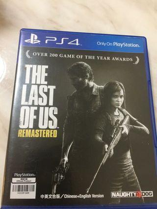 The last of us 中英文合版