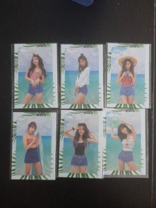 WTS TWICE DTNA MESSAGE CARD
