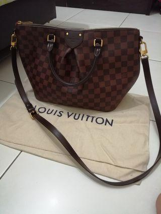 Authentic LV Damier Canvas Siena MM bag
