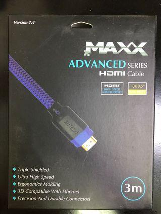 MAXX Advanced Series HDMI Cable 3m
