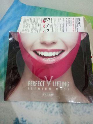1 Sheet Avajar Perfect V Lifting Premium Mask