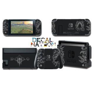 [In Stock] Nintendo Switch Diablo 3 Limited Edition Decal (Black & White)