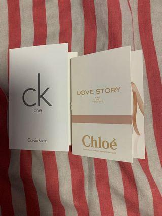 🚚 CK One + Love Story