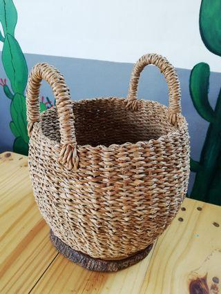 Native Bucket Planter Basket