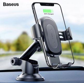 Baseus Osculum Gravity Car Mount Wireless Charger Holder