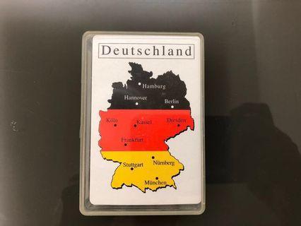 德國風景啤牌