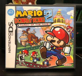 [NDS] Mario Vs. Donkey Kong 2: March of the Minis - US VERSION (美版)