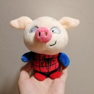 🚚 Spiderman pig plushie / soft toy