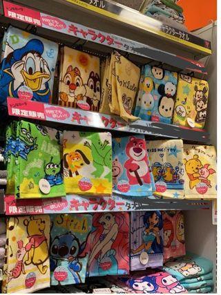 日本代購毛巾