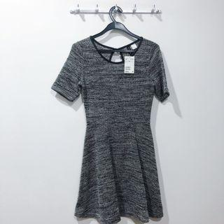 🚚 [H&M] Grey Skater Dress
