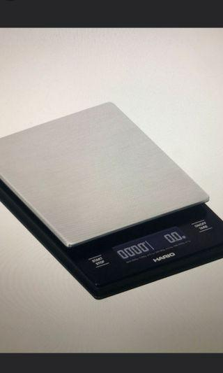 Hario v60 metal drip coffee scale