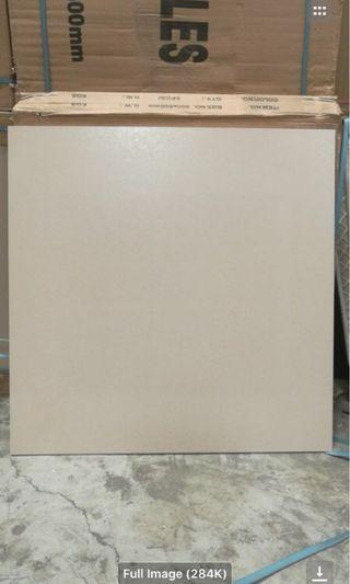 60x60 Ceramic matte tiles white